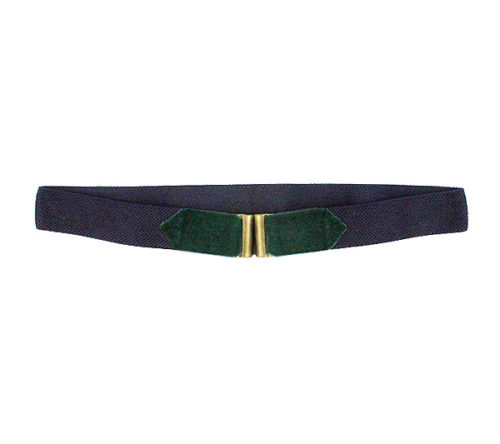 Cinturón hombre marino con verde